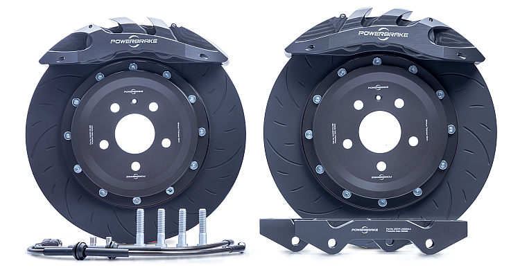 Powerbrake S-Line Big Brake Kit (Circuit - Race)